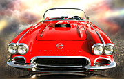 62 Vette Print by Stephen Warren