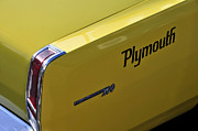 Name Prints - 64 Plymouth Print by David Lee Thompson