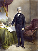19th Century America Photo Posters - Andrew Jackson (1767-1845) Poster by Granger