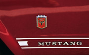Name Prints - 66 GT Mustang Print by David Lee Thompson