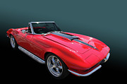 Photomanipulation Photo Prints - 67 427 Roadster Print by Bill Dutting