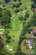 Sunnybrook Golf Club Aerials By Duncan Pearson Originals - 6th Hole Sunnybrook Golf Club 398 Stenton Avenue Plymouth Meeting PA 19462 1243 by Duncan Pearson