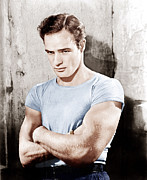 T-shirt Photos - A Streetcar Named Desire, Marlon by Everett