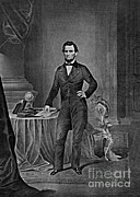Slavery Art - Abraham Lincoln, 16th American President by Photo Researchers