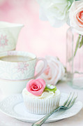 Frosting Prints - Afternoon tea Print by Ruth Black