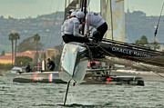 World Series Prints - Americas Cup World Series Print by Steven Lapkin