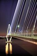 Lines Originals - Arthur Ravenel Jr. Bridge  by Dustin K Ryan