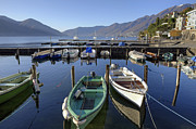 Rowing Boats Prints - Ascona - Lake Maggiore Print by Joana Kruse
