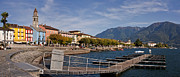 Apartment Photo Prints - Ascona - Ticino Print by Joana Kruse