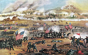 Fredericksburg Photos - Battle Of Fredericksburg by Granger