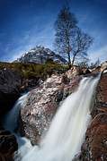 Mountains Digital Art - Beauchaille Etive Mor by Keith Thorburn