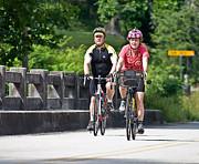 Bicycle Ride Across Georgia Print by Susan Leggett
