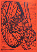 Bicycle Drawings - Bike 3 by William Cauthern