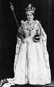 Bh History Prints - British Royalty. Queen Elizabeth Ii Print by Everett