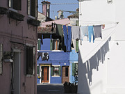 Linge Framed Prints - Burano.VENICE Framed Print by Bernard Jaubert