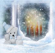 Christmas Print by Diana Nikolova