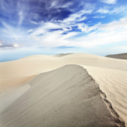 Barren Land Prints - Desert Print by MotHaiBaPhoto Prints
