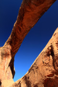 Double O Arch Photos - Double 0 Arch in Arches National Park by Pierre Leclerc