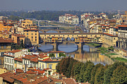 Arno River Framed Prints - Florence Framed Print by Joana Kruse