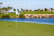 Tournament Photo Prints - Florida Gold Coast Resort Golf Course Print by ELITE IMAGE photography By Chad McDermott