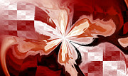 Abstraction Digital Art - Flower by Kristin Kreet
