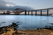 Brdige Prints - Forth Rail Bridge Print by Keith Thorburn
