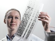 Biochemistry Photos - Genetics Research by Tek Image