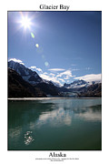 Signed Photo Prints - Glacier Bay Print by William Jones