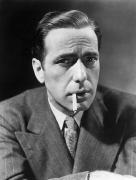 Bogart Framed Prints - Humphrey Bogart (1899-1957) Framed Print by Granger