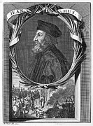 Reformer Framed Prints - JAN HUS (c1369-1415) Framed Print by Granger