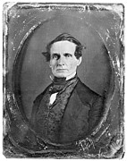 19th Century America Photo Posters - Jefferson Davis Poster by Granger