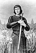 Accused Photos - Joan Of Arc, French National Heroine by Photo Researchers