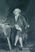 U S Founding Father Prints - John Adams, 2nd American President Print by Photo Researchers