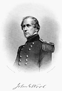 U.s Army Metal Prints - John Ellis Wool (1784-1869) Metal Print by Granger