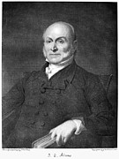 John Quincy Adams Print by Granger