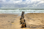 Flood Prints - Kampen - Sylt Print by Joana Kruse