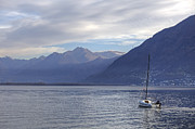 Sail Boat Photos - Lago Maggiore by Joana Kruse
