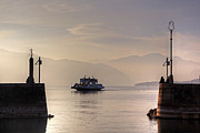 Ferry Photos - Lake Maggiore by Joana Kruse