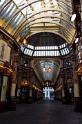 Queen Victoria Prints - Leadenhall Market London Print by David Pyatt