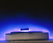 Levitation Art - Magnetic Levitation Of Superconductor by David Parkerimiuniv. Of Birmingham High Tc Consortium.