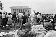 March Photos - March On Washington, 1963 by Granger