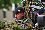 Component Photos - Members Of A Recce Or Scout Team by Luc De Jaeger