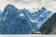 Sound Art - Milford sound by MotHaiBaPhoto Prints