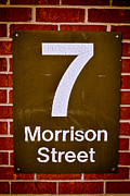7 Morrison Street Print by Shutter Happens Photography