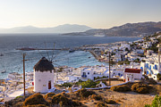 Fishing Village Metal Prints - Mykonos Metal Print by Joana Kruse