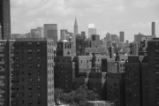 Tenements Prints - New York City Skyline Print by Frank Romeo