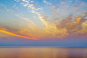 New England Ocean Prints - Ocean Sunrise Print by John Greim