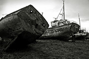 Spoiled Framed Prints - Old abandoned ships Framed Print by RicardMN Photography