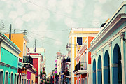 Puerto Rico Photo Prints - Old San Juan Puerto Rico Print by Kim Fearheiley