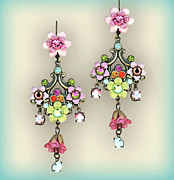 Gift Jewelry - Orly Zeelon The Royal Princess Earrings by Orly Zeelon